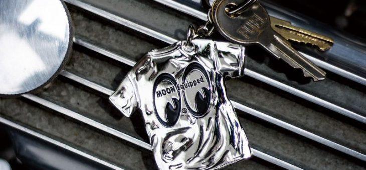 ムーンイクイップド Tシャツ メタルキーホルダー 新商品のご案内 MOON Equipped