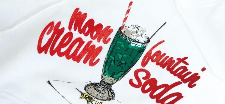 ムーンカフェ クリームソーダ フーディー 新商品のご案内 MOONEYES MOONCafe
