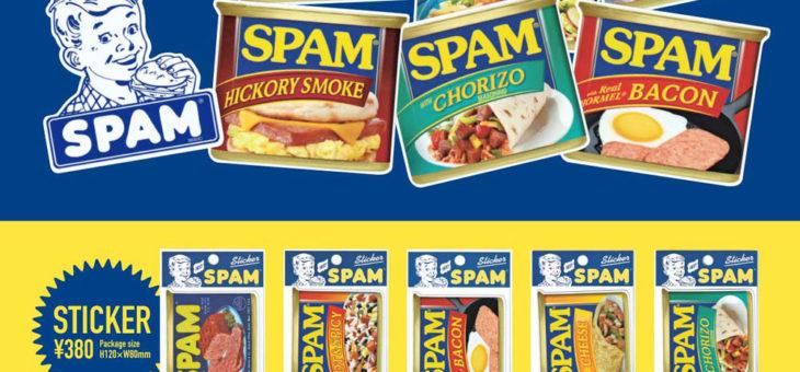 SPAM、STP ステッカー&KOOZIE 新商品のご案内