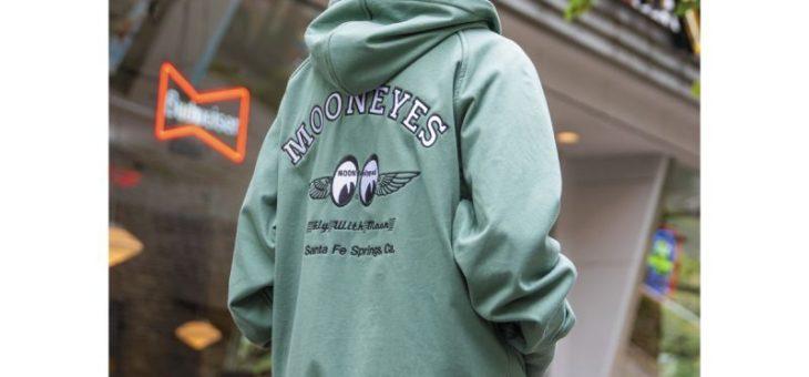 ムーンアイズ WindProof Wジップフーディー 新商品のご案内 MOONEYES