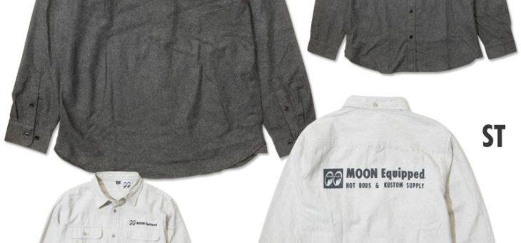 ムーンイクイップド ソリッドフランネルシャツ 新商品のご案内 MOONEquipped