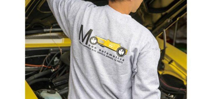 ムーンイクイップド YellowRoadster スウェットシャツ MOONEquipped
