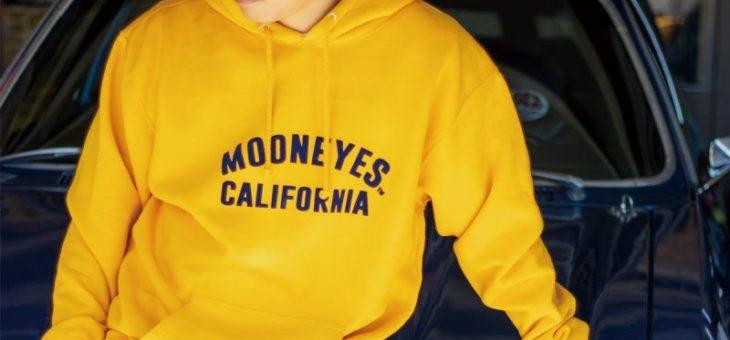 ムーンアイズ Californiaフーディー 新商品のご案内 MOONEYES