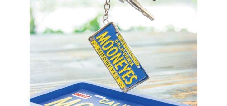 ムーンアイズ カリフォルニア ライセンスプレート メタルキーリング 新商品のご案内 MOONEYES